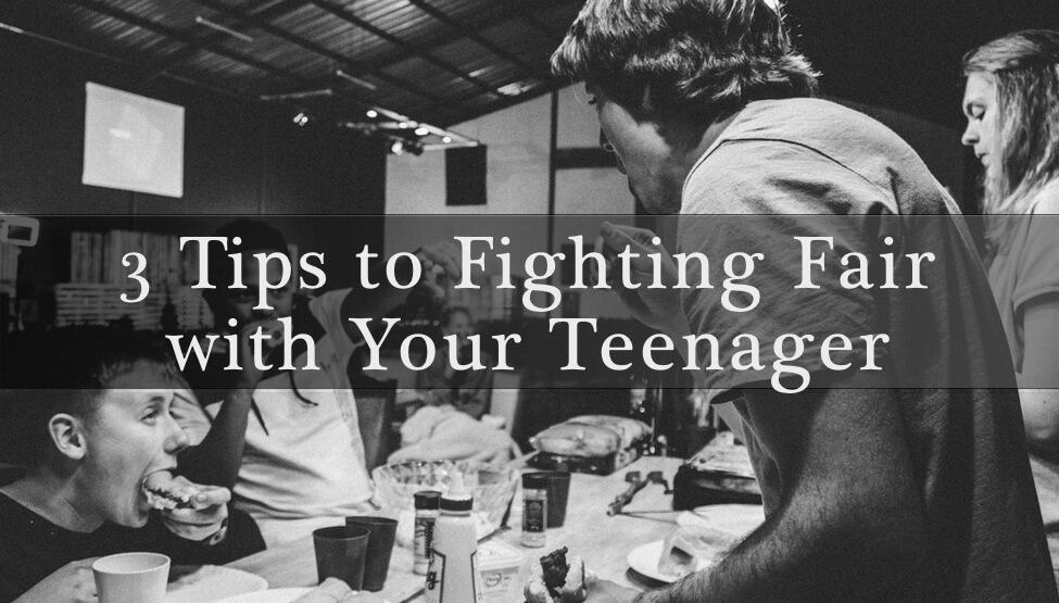 3 Tips to Fighting Fair with Your Teenager | Cedar Tree Counseling